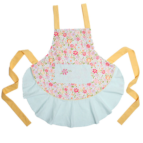 Flower Party Apron- Chinaberry