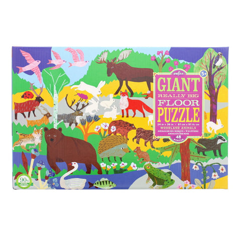 Woodland Animals Floor Puzzle - Chinaberry