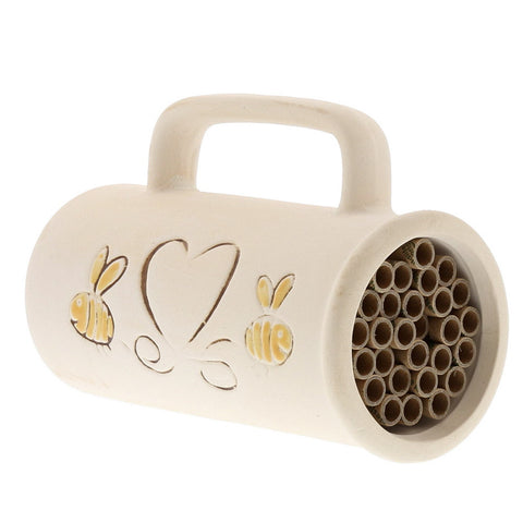 Ceramic Bee House - Chinaberry