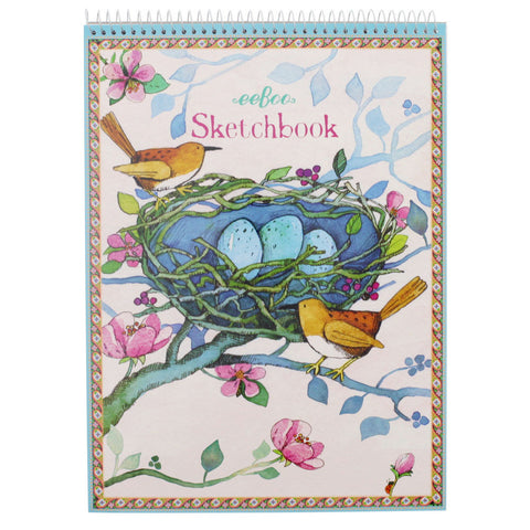 Pretty Bird Sketchpad - Chinaberry
