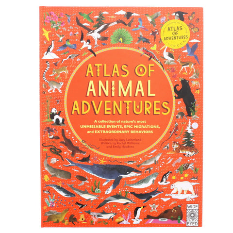 Atlas of Animal Adventures - Front - Chinaberry