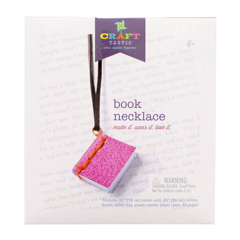Book Necklace Craft Kit - Chinaberry