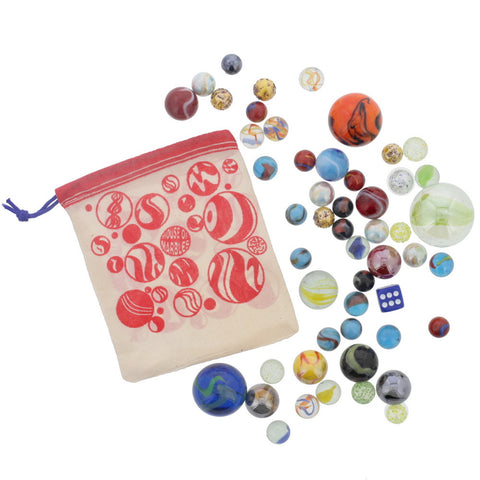 50 of the World's Best Marbles- Chinaberry