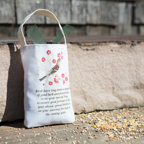 Spring Birdseed Bag - Chinaberry