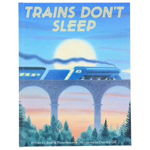 Trains Don't Sleep- Front- Chinaberry