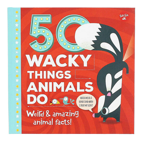 50 Wacky Things Animals Do- Front- Chinaberry