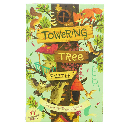 Towering Tree Floor Puzzle- Chinaberry