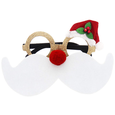 Holiday Novelty Glasses- Santa- Chinaberry