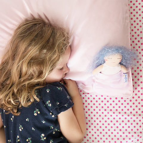 Hair Fairy Pillowcase- Pink- Chinaberry