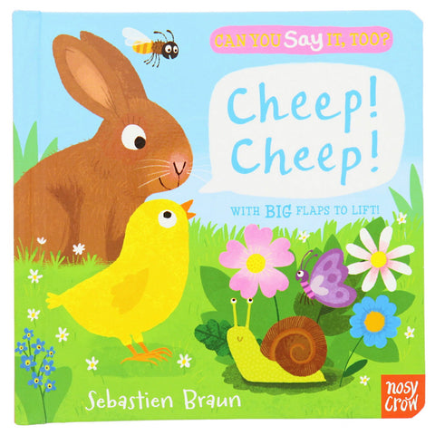 Cheep! Cheep! Lift the Flap Book - Chinaberry Catalog