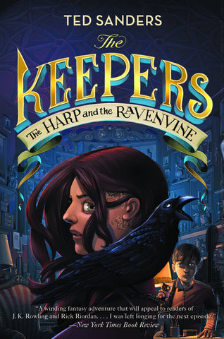 The Keepers #2 The Harp & the Ravenvine - Chinaberry Books, Toys & Treasures