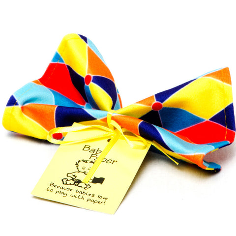 Baby Paper - Triangles - Chinaberry Books, Toys & Treasures