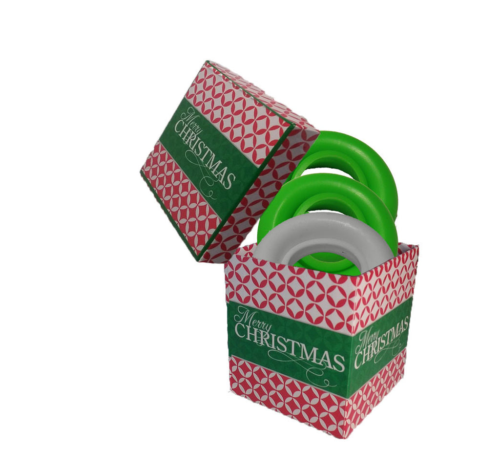 CHRISTMAS GIFT BOX / 3 Original Beer Rubbers (Free Shipping)