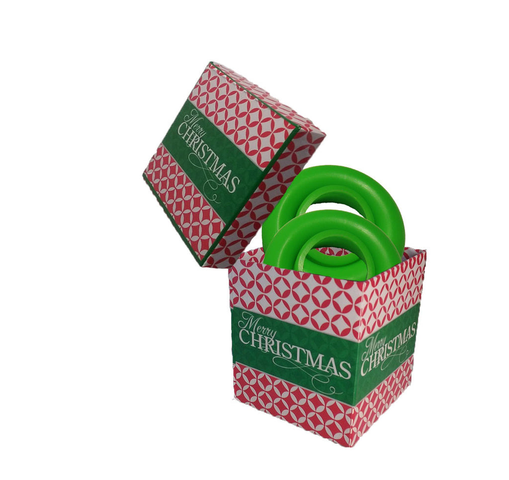 CHRISTMAS GIFT BOX / 2 Original Beer Rubbers (Free Shipping)