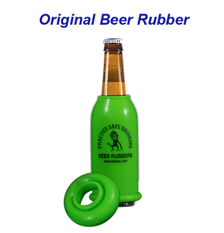 ORIGINAL BEER RUBBER - GREEN - (FREE SHIPPING)