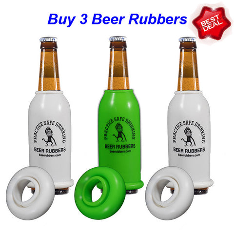 3 - ORIGINAL BEER RUBBERS - (FREE SHIPPING)