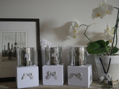 Large Gold & Silver Candle Collection