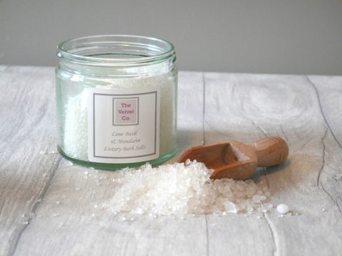 Earl Grey and Cucumber Bath Salts