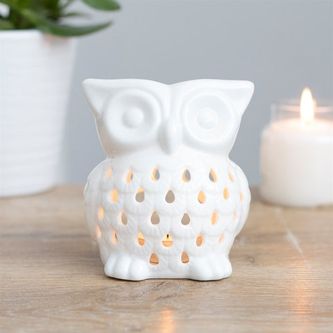 Ceramic Owl Wax & Oil Ceramic Warmer