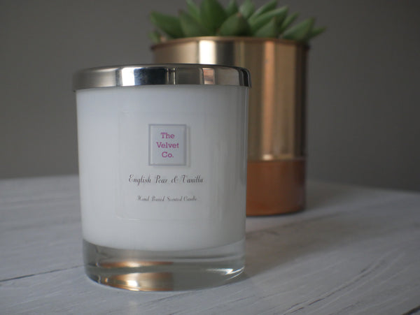 English Pear & Vanilla Candle