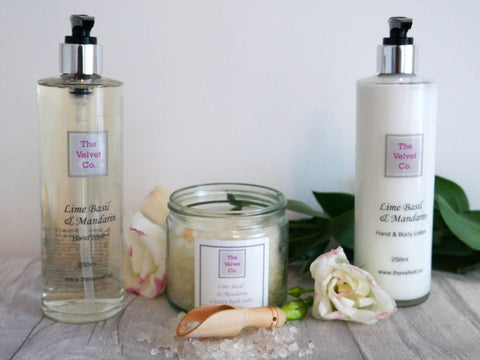 Lime Basil & Mandarin Hand Wash and Hand/Body Cream Collection