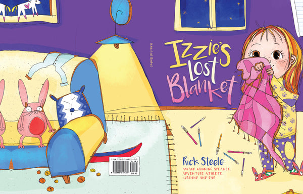 Izzie's Lost Blanket: Now on Amazon!
