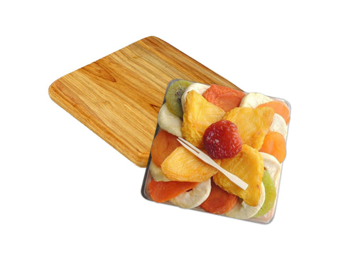 Pear Flower Dried Fruit Platter on Cutting Board