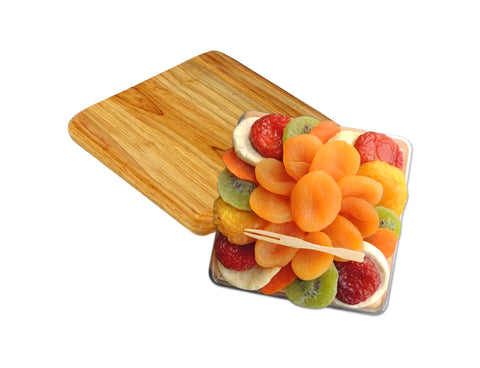Apricot Flower Dried Fruit with Cutting Board