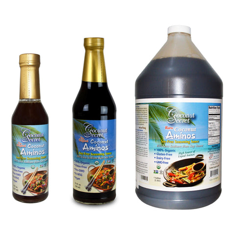 Coconut Secret Aminos Seasoning Sauce