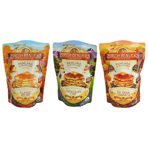Kosher Birch Benders Organic Pancake and Waffle mix