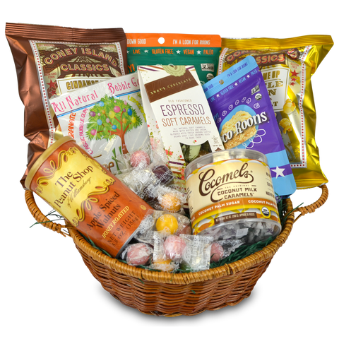 Unique Sweets Gift Basket