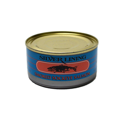 Silver Lining Canned Smoked Alaska Salmon