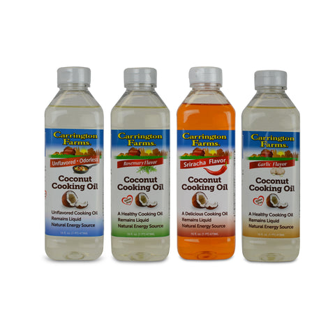 Kosher Carrington Farms Coconut Cooking Oil