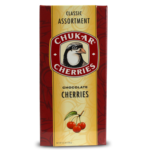 Chukar Classic Assortment Chocolate Cherries Gift Box