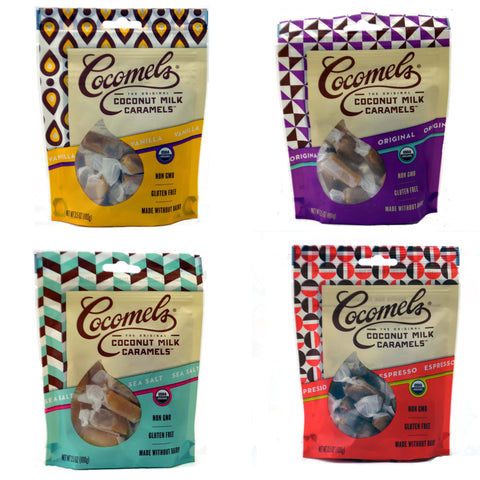 JJ's Sweets Cocomels Caramel Bags (Dairy Equipment)