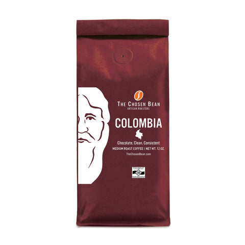 The Chosen Bean Columbian Origin Gourmet Ground Coffee