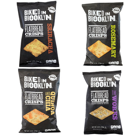 Baked in Brooklyn Flatbread Crisps