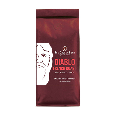 The Chosen Bean Diablo French Roast Gourmet Ground Coffee