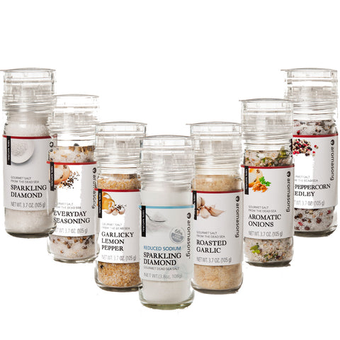 Aromasong Dead Sea Gourmet Salt, The Daily Grind