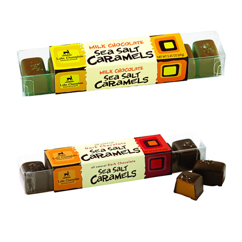 Lake Champlain Sea Salt Caramels