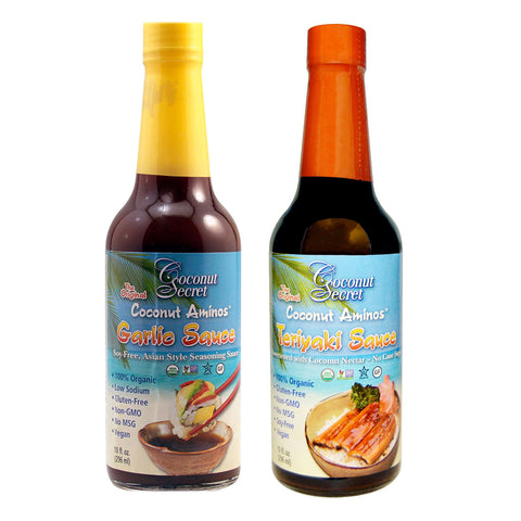 Coconut Secret Flavored Aminos Seasoning Sauce