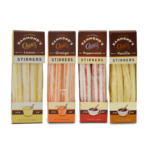 Hammond's Candies All-Natural Drink Stirrers