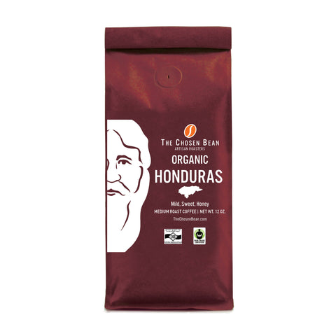 The Chosen Bean Organic Honduran Gourmet Ground Coffee