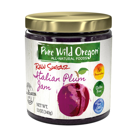 Pure Wild Oregon Raw Sugar Jam