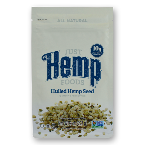 Just Hemp Foods Natural Hemp Seeds