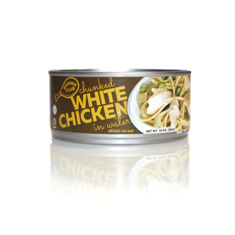 Kosher Club Canned Chunk White Chicken in Water