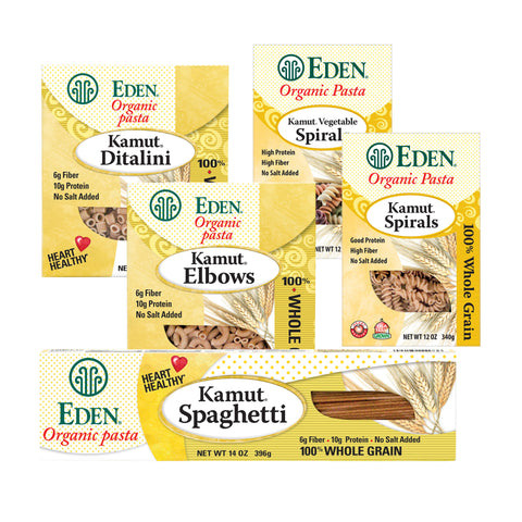 Kosher Eden Foods Organic Whole Grain Kamut Pasta