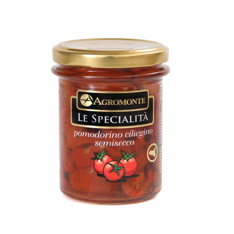Agromonte Authentic Italian Semi-Dried Cherry Tomatoes