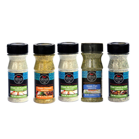 MJM Altius Gourmet Greek Seasoning