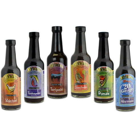 Kosher Myrons Fine Foods Asian Style Sauces